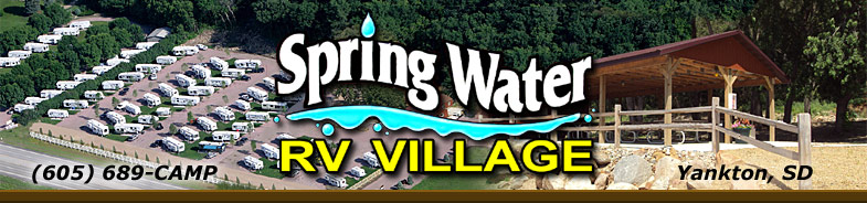 Spring Water RV Park and Village - Yankton SD Camping